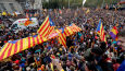 Strajk generalny w Katalonii.