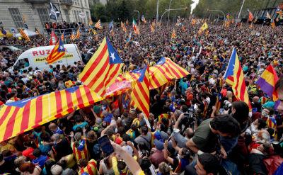 """Strajk generalny w Katalonii. """"Jesteśmy wściekli"""""""