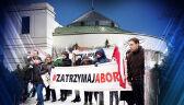 """""""To barbarzyństwo w majestacie prawa"""". Projekt zaostrzający prawo aborcyjne trafił do Sejmu"""