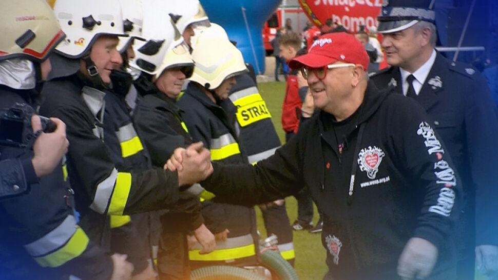 WOŚP przekaże ochotniczym strażom pożarnym sprzęt za 1,5 mln zł