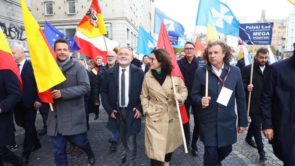 Protest samorządowców przeciwko zmianom podatkowym w Polskim Ładzie