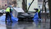 Runął pomnik Henryka Jankowskiego w Gdańsku. Trzy osoby zatrzymane