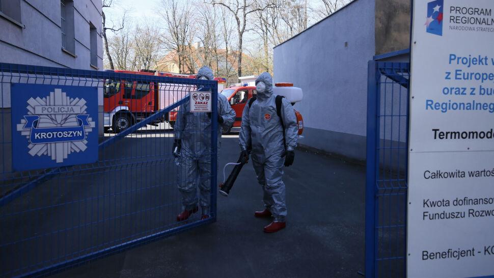 Ognisko zachorowań w Krotoszynie. Powiat ma jednak nie być odcięty