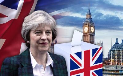 18.04.2017 | Zwrot akcji na Wyspach - będą przedterminowe wybory. May chce silnego mandatu od Brytyjczyków