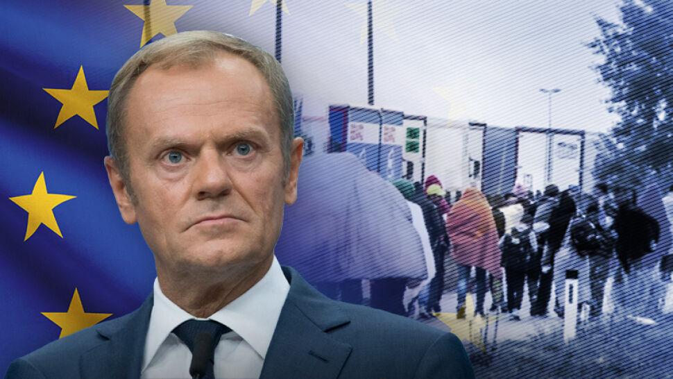 Kwestia migracji na szczycie UE. Zbieżne stanowisko polskiego rządu i Donalda Tuska ws. migracji