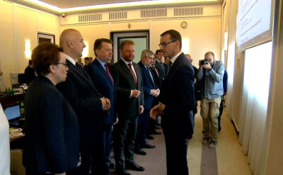 Lekcja polskiego na posiedzeniu rządu. Minister edukacji pouczyła premiera