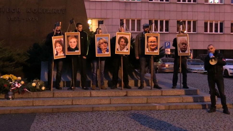 Postępowanie w sprawie zdjęć europosłów na szubienicach zostało umorzone