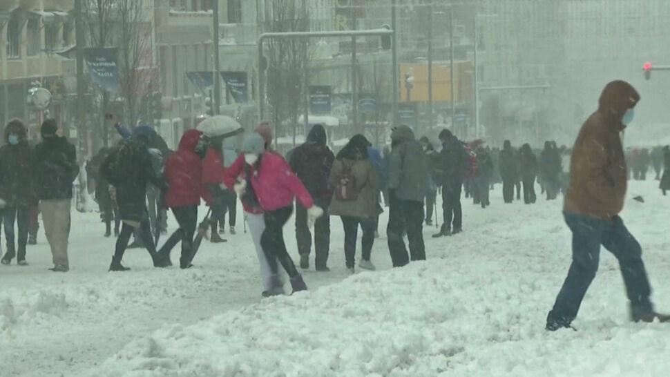 """Śnieżyca Filomena sparaliżowała Hiszpanię. """"Nie możemy normalnie żyć"""""""