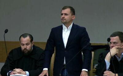 Rusza proces Marcina Dubienieckiego. Grozi mu do 10 lat więzienia