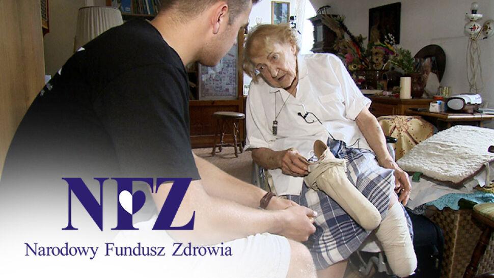 Nogę straciła w trakcie wojny, przeżyła Auschwitz. NFZ odmawia sfinansowania nowej protezy