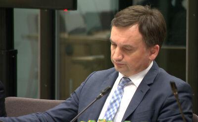 """Pytania o odpowiedzialność Ziobry. """"Prokurator generalny nie jest zainteresowany tym, żeby sam siebie pogrążyć"""""""