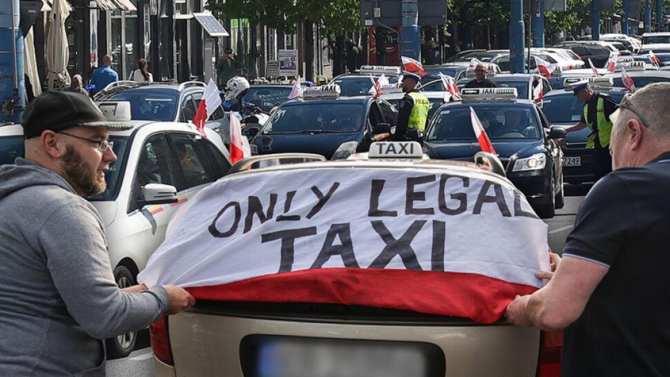 Plan był prosty: zablokować miasto. Protest taksówkarzy