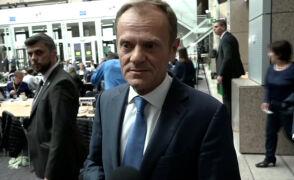 Tusk: wyjątkowa jedność liderów ws. Brexitu