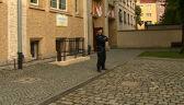 Policja wzmocniła ochronę szkół na czas matur po serii alarmów bombowych