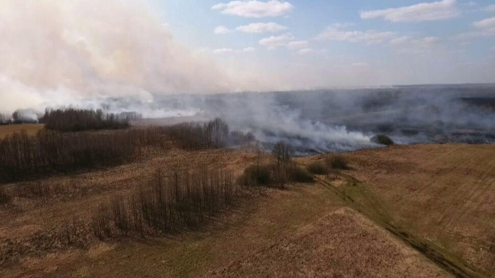 """Pożar w Biebrzańskim Parku Narodowym. """"Straty? Nie da się opisać"""""""