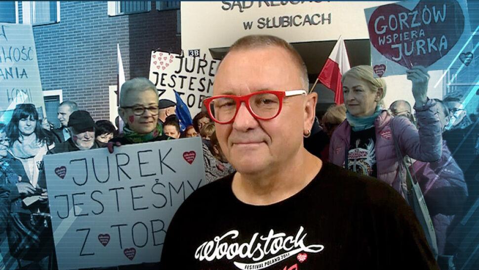 Kilka wulgaryzmów i 130 złotych kary. Jerzy Owsiak przed sądem