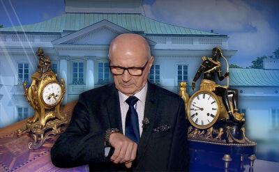 Strażnik prezydenckich zegarów. Zmiana czasu ze światowej klasy zegarmistrzem