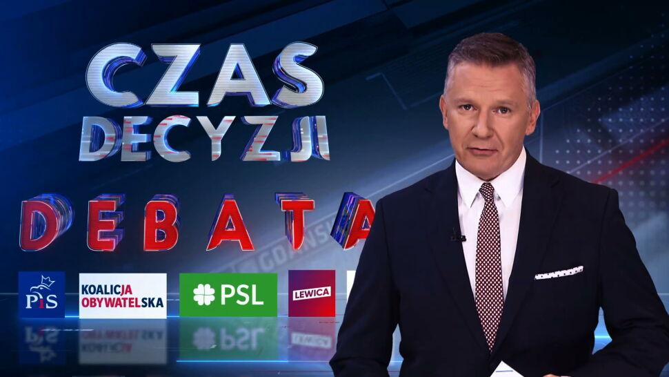 Cztery bloki tematyczne, pięć ogólnopolskich komitetów. We wtorek debata w TVN24
