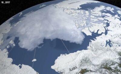 Arktyka topnieje. NASA pokazała dramatyczne zdjęcia