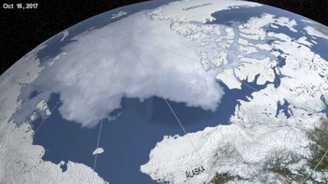 05.10.2019 | Arktyka topnieje. NASA pokazała dramatyczne zdjęcia