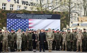 Wysunięte Stanowisko Dowodzenia Amerykańskiej 1. Dywizji Piechoty rozpoczęło działalność w Poznaniu