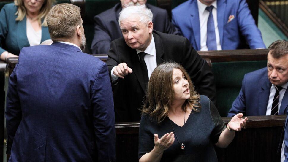 Burza po geście posłanki Lichockiej. Opozycja chce jej ukarania