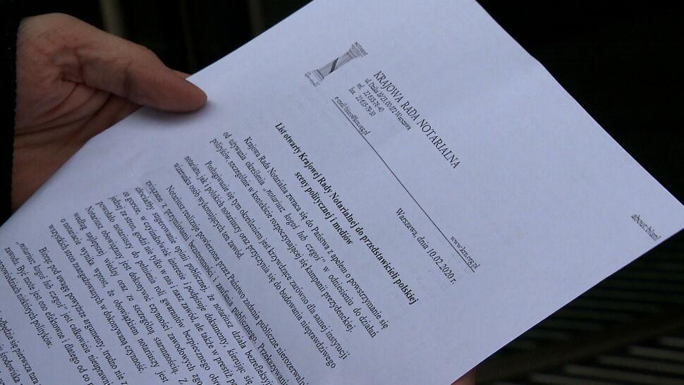 """Nazywanie prezydenta """"notariuszem"""" budzi sprzeciw notariuszy. Politycy opozycji obiecują zmianę języka"""