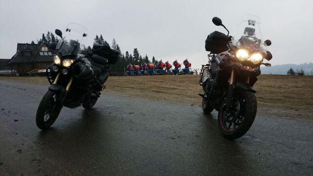 Motocyklowa wyprawa Pawła Płuski do Zakopanego
