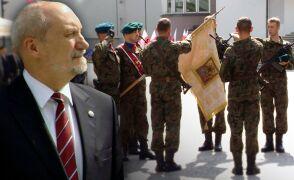 Uroczysta przysięga pierwszych żołnierzy Wojska Obrony Terytorialnej