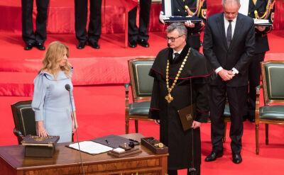 Zuzana Czaputova została zaprzysiężona na prezydenta Słowacji