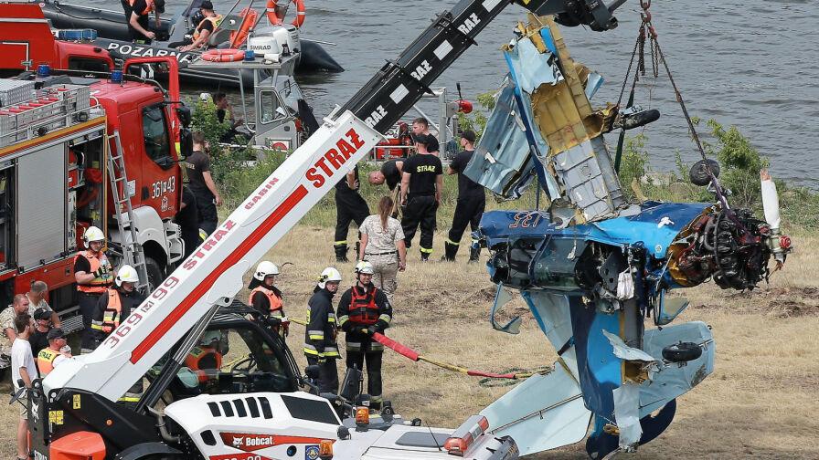 Wypadek na pikniku lotniczym. Pilot nie żyje