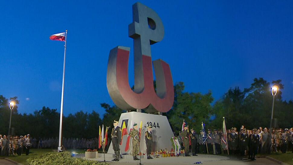 Zapłonął ogień na Kopcu Powstania Warszawskiego