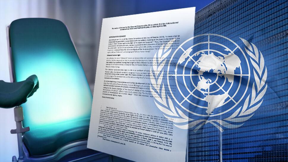 Komitet Praw Człowieka przy ONZ: nie karać za aborcję. Polska wysłała swoje stanowisko