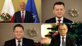 Zieliński o konfetti, Szyszko o przyrodzie. Internetowe życzenia od polityków