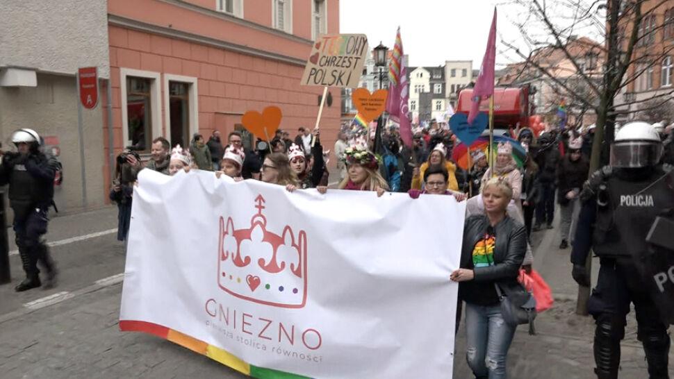 Marsz Równości przeszedł ulicami Gniezna