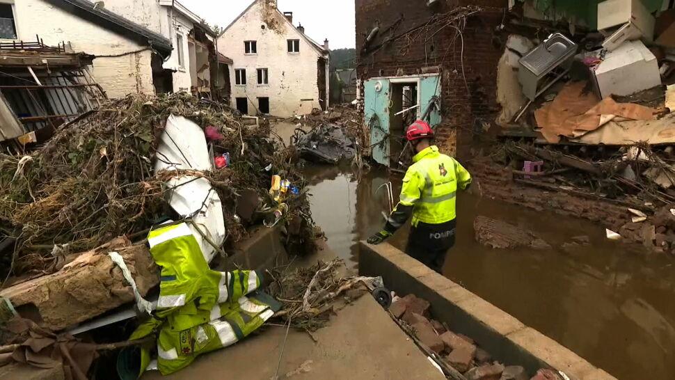 """""""Wszystko zostało zniszczone"""". Gigantyczne szkody po powodziach w Europie Zachodniej"""