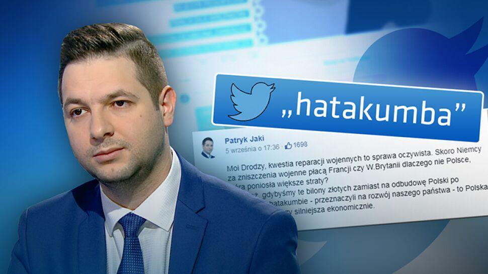 """Hatakumba"" autorstwa Patryka Jakiego hitem internetu"