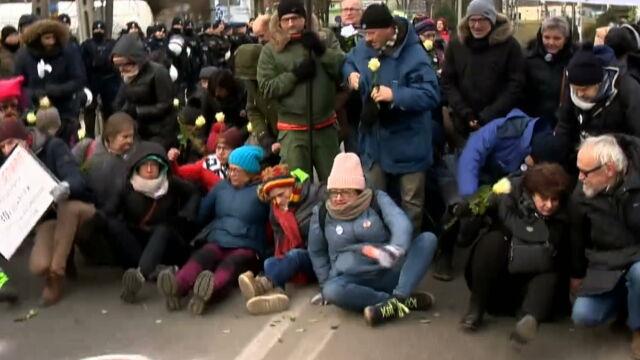 Blokowali marsz narodowców w Hajnówce. Jest pierwszy wyrok