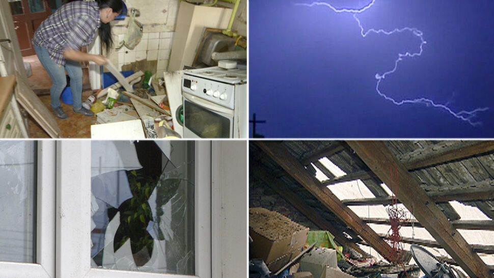 Piorun zniszczył im dom, stracili niemal wszystko. W internecie ruszyła zbiórka, żeby pomóc rodzinie