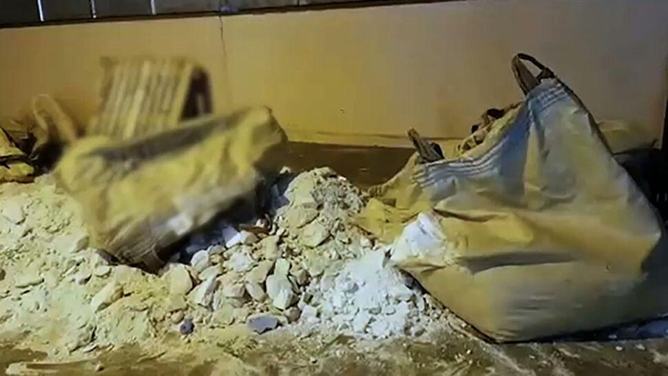 Heroina ukryta w kruszywie. Służby przejęły narkotyki warte ponad 60 milionów złotych