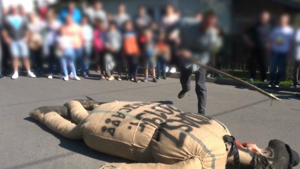 """""""Sąd nad Judaszem"""" w Pruchniku bada policja"""