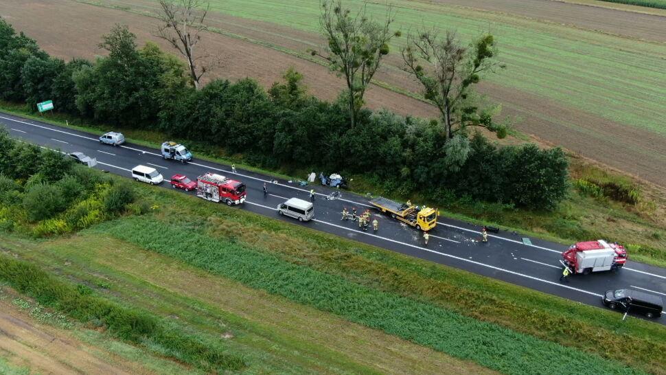 Przesłuchany kierowca, który mógł przyczynić się do wypadku w Kleszczowie