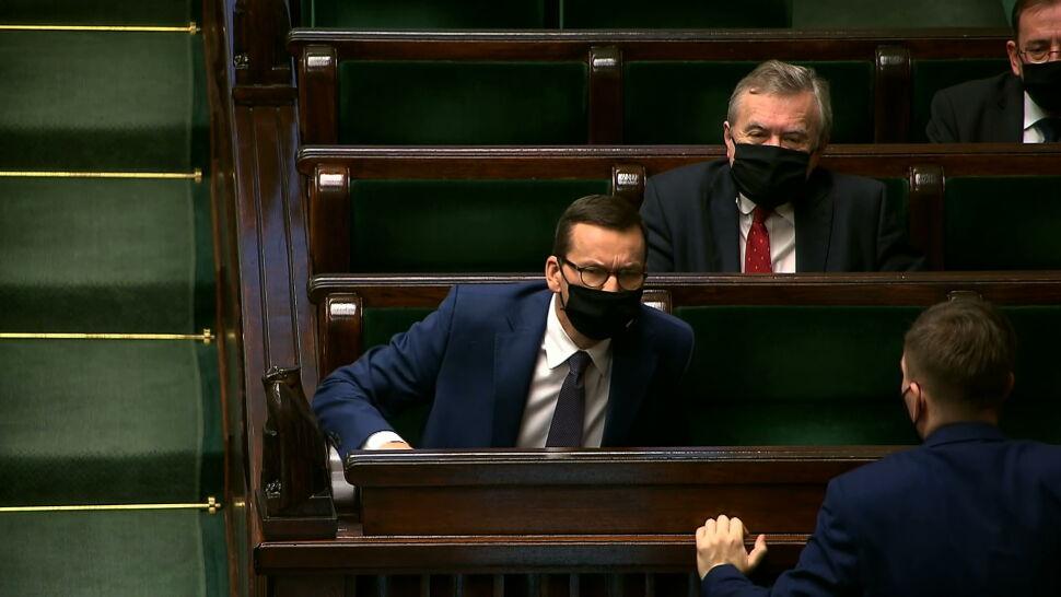 Morawiecki apeluje o współpracę, opozycja mówi o odrzuconych projektach