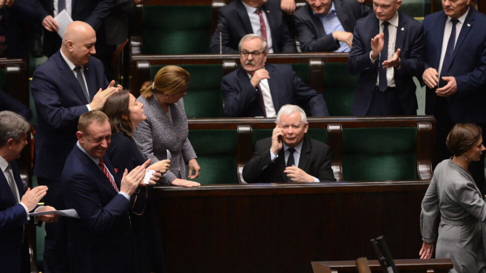 """""""To nie jest nawet kapiszon"""". Kaczyński skomentował sprawę Srebrnej"""