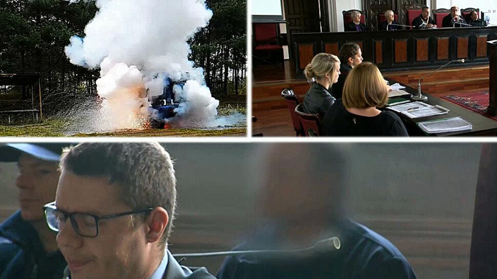 Podłożył bombę pod auto żony. Usłyszał wyrok