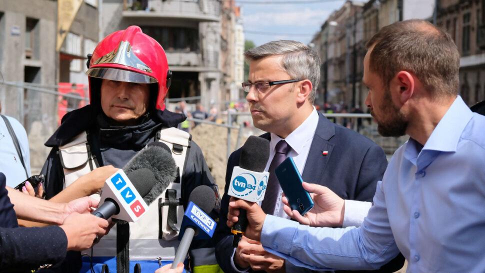 Eksplozja i pożar w centrum Bytomia. Nie żyją mama i jej dwie córki