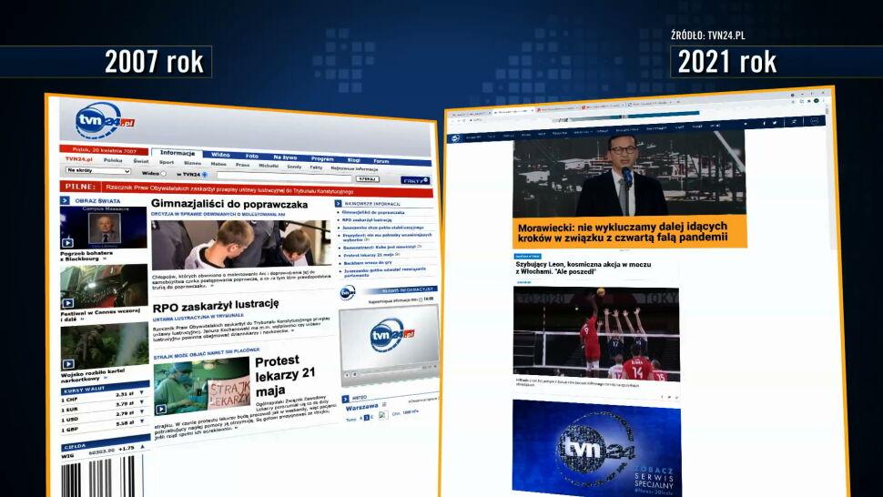 """TVN24 to nie tylko telewizja, ale też portal internetowy. """"Internet stał się ważny"""""""