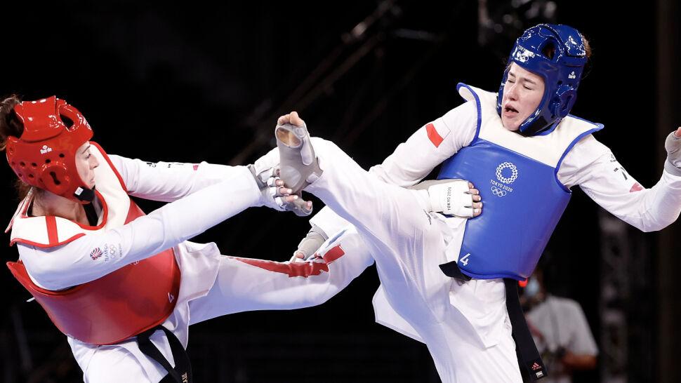 Igrzyska w Tokio. Taekwondzistka Aleksandra Kowalczuk otarła się o brązowy medal