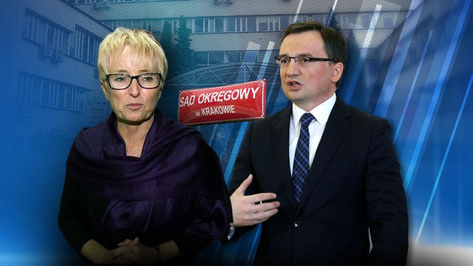 Krakowscy sędziowie murem za odwołaną prezes. Podjęli uchwałę