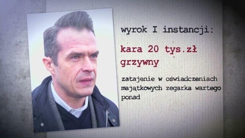 27.05.2015 | Sławomir Nowak winny, ale nie poniesie kary za słynny zegarek